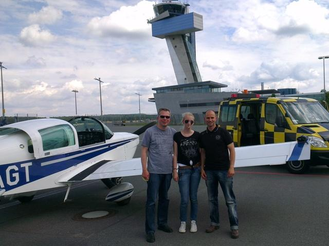 Air-lebnis: Flughafeneinweisung in Nürnberg