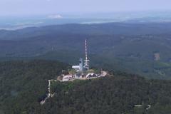 Vorbeiflug am Inselsberg